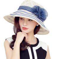 遮阳帽大沿凉帽可折叠太阳帽女防晒帽防紫外线