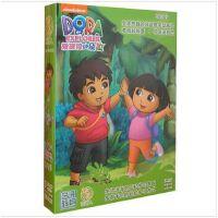 原装正版 爱探险的朵拉 新第八季 中英双语卡通动画片5DVD 少儿卡通学习视频 光盘