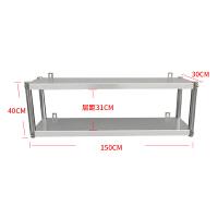 不锈钢置物架托壁式上吊架厨房调味架展示架子厨房架挂墙层架