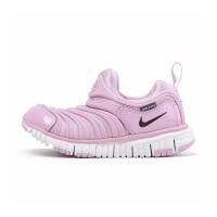 【到手价:234.5元】耐克(Nike)童鞋 毛毛虫儿童鞋 舒适运动休闲鞋343738-628 浅北极粉/碳粉黑