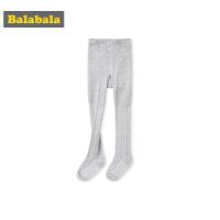 巴拉巴拉女童袜子儿童棉袜薄款透气棉连裤袜打底袜时尚洋气弹力女
