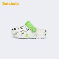巴拉巴拉童鞋男女童小童鞋凉鞋沙滩鞋防滑儿童洞洞鞋2020新款夏季