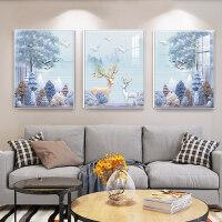 客厅装饰画沙发背景墙面挂画现代简约卧室创意壁画墙画客厅挂画