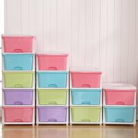 加厚特大号抽屉式收纳柜玩具收纳盒多层衣物收纳箱塑料整理储物柜