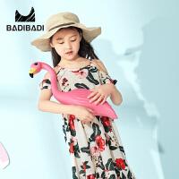 【99元选3件】巴拉旗下巴帝巴帝女童夏季新品时尚淑女连衣裙