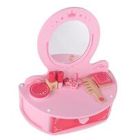 Hape小公主梳妆台3-6岁儿童早教启蒙玩具婴幼玩具过家家玩具E8343