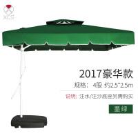 户外大型遮阳伞户外遮阳伞太阳伞大伞户外摆摊庭院伞室外防紫外线折叠雨伞遮阳伞