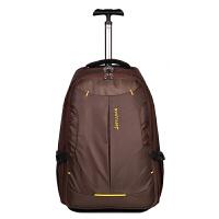 拉杆背包可背拖拉书包带轮双肩包学生超轻帆布旅行行李箱