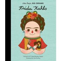 【现货】小女孩,大梦想:弗里达・卡罗 Frida Kahlo 英文原版 精装绘本 名人传记 Little People