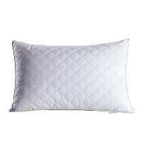 君别日式白色羽丝绒平枕芯枕方块单人矮枕头超柔护颈