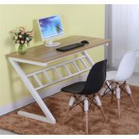 【满200减30】柏易 环保加厚Z型钢木电脑桌设计款 亲子学生小户型易拆装简易书桌办公台办公桌