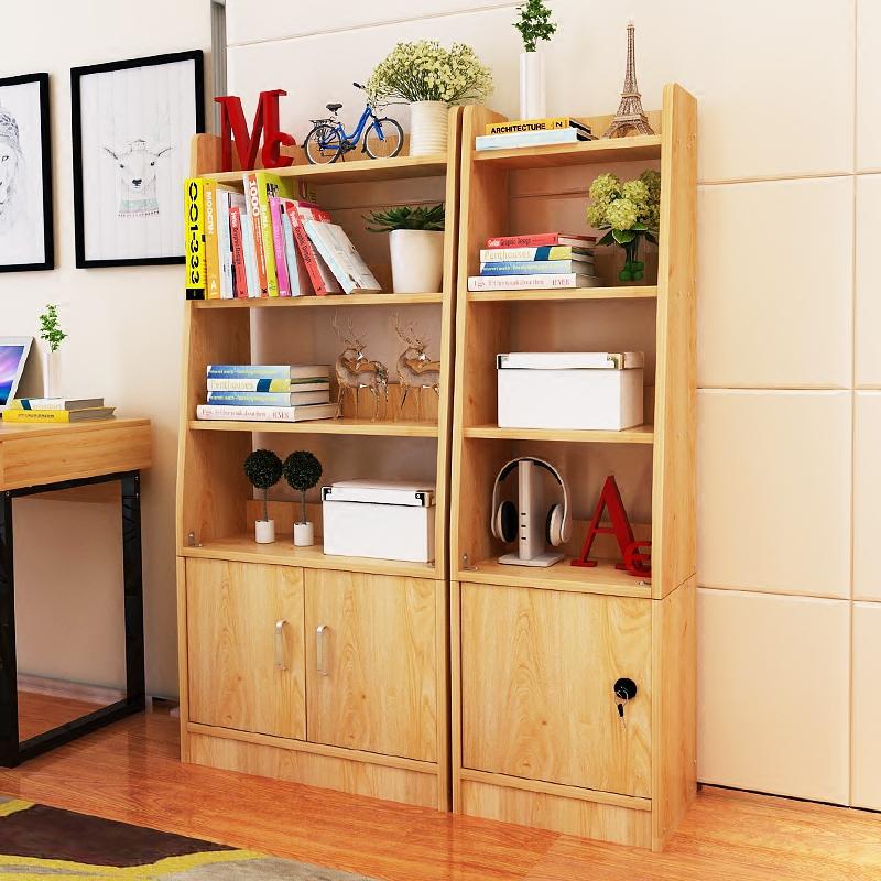 亿家达 简约现代书架卧室书架客厅置物架创意隔断置物架子简易书架展示柜多层摆放