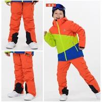 户外冬季保暖单双板滑雪裤儿童滑雪裤男女童