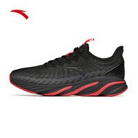 安踏男款跑鞋2020新款舒�m休�e跑步�\�有�112045522