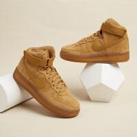 Nike耐克大童鞋�\�有�AF1空�一�高�湍湍バ蓍e鞋板鞋CK0262-700