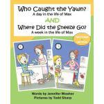 【预订】Who Caught the Yawn? and Where Did the Sneeze Go?: Two