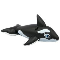 INTEX58561�蛩�大黑�L坐�T �和�充�庾��T 水上玩具 游泳�o助工具