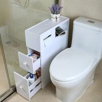 浴室夹缝置物架厕所缝隙储物收纳柜卫生间马桶边柜落地洗漱台窄柜