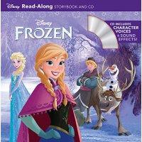 【中商原版】英文原版Frozen Read-Along Storybook(CD)冰雪奇缘迪士尼