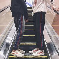 男裤子韩版潮流2017新款 秋冬款金丝绒运动休闲裤中学生加绒加厚 DJS947