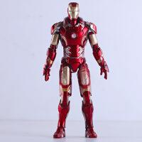 综漫 钢铁侠模型新款Mk42 Mk43金属钢铁侠手办 玩具模型