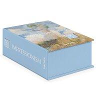 Impressionism Postcard Set: 100 Postcards in a Cardboard Case