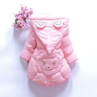 新款童装装女童加厚手塞棉棉衣外套小中儿童棉女宝袄羽绒棉 美羊羊