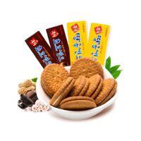韩国进口 CROWN巧克力/花生夹心饼干70g*4盒