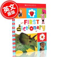 现货 儿童英语单词图片字典 英文原版 First Dictionary 2-5岁儿童 英语启蒙 大开平装 进口童书 英