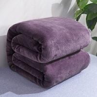 君别珊瑚绒毯子冬季单人加厚保暖学生宿舍法兰绒毛毯床单办公室午睡毯
