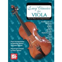 Easy Classics for Viola - With Piano Accompaniment [ISBN: 9