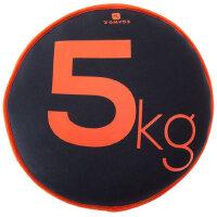 沙盘哑铃多功能防震保护沙袋健身运动沙碟5KG