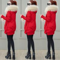 羽绒女装冬装冬季2010年新款潮中长款小个子棉衣时尚棉袄外套