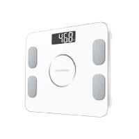 沃莱 智能体重称秤脂肪称秤电子称家用称重成人精准测脂肪减肥体重人体智能电子秤 连接手机APP