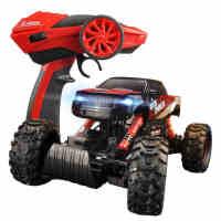 2.4g电动玩具车 遥控越野车赛车充电四驱攀爬 漂移汽车男孩