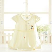 婴儿夏季纯棉连衣裙夏装女宝宝衣服0-1-2岁小女孩公主裙女童裙子