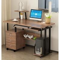 钢化玻璃电脑台式桌家用简约经济型简易电脑桌电脑桌办公桌