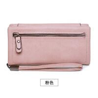 新款多卡位钱包女长款韩版新款大容量多功能手拿钱包三折女士钱夹