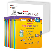WORDS词汇漫画书(全新升级版)(一套可以当漫画书看的英语书!风靡美国的儿童英语语法入门书!包括中小学阶段必须掌握的