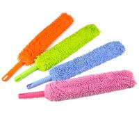 红兔子 双面细纤维雪尼尔可弯曲清洁除尘掸 鸡毛掸子家居用品尘掸子打扫卫生工具颜色随机