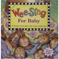 英文原版 欧美经典儿歌 Wee Sing for Baby (Paperback w/ CD)