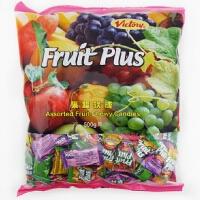 【包邮】FruitPlus 马来西亚 果超果汁软糖 500g 袋装 婚庆喜糖 水果糖果 零食年货 软糖