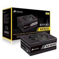 美商海盗船 (USCORSAIR) AX1600i 1600W 台式机电脑电源(全模组数字/80PLUS钛金认证/十年