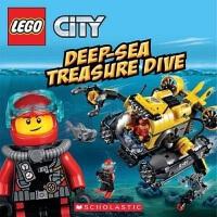 【中商原版】乐高城市 深海寻宝 英文原版 英文版 Lego City Deep-Sea Treasure Dive 学