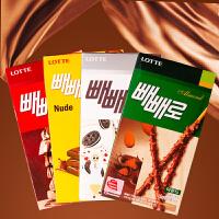 【包邮】韩国进口 乐天巧克力棒 派派乐巧克力棒 5盒装
