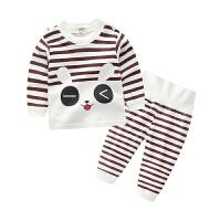 儿童纯棉内衣套装男童女童婴儿衣服宝宝秋衣秋裤两件套装卡通