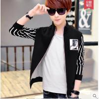 新款青年韩版潮休闲运动 男外套 学生立领 青少年修身夹克衫