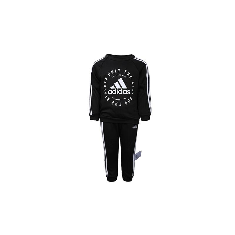 adidas阿迪达斯2019男婴童I 3S JOGG FL长袖套服DV1285 秋装尚新 潮品来袭 正品保证