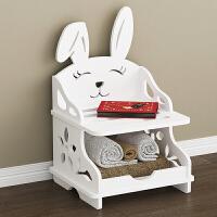 鞋架简易多层经济型省空间家用小窄门口鞋架创意宝宝儿童鞋柜 单兔二层 (熊) 默认发兔