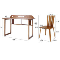 书桌多功能台式电脑桌学生楠竹学习桌现代简约家用桌子办公桌
